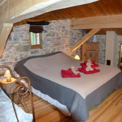 Chambre 3 personnes . LIT 160 cm + lit 90 cm